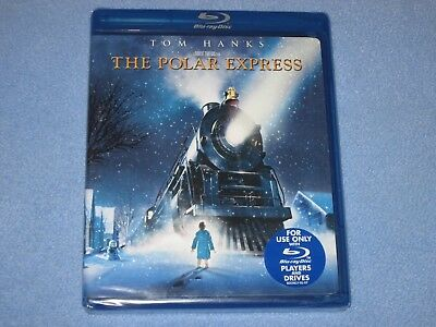 THE POLAR EXPRESS (Blu-ray Disc, 2007) ***BRAND NEW*** SEALED Christmas CLASSIC!