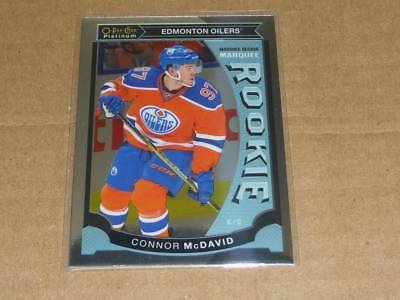 2015/16 O-Pee-Chee Platinum CONNOR MCDAVID RC/ROOKIE OILERS M1 H3701