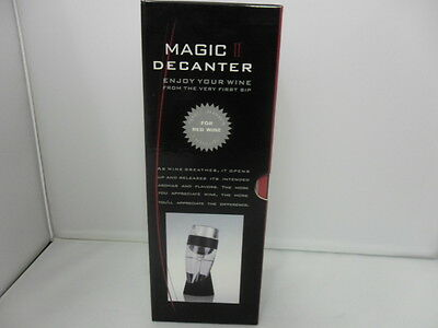 New Magic Decanter Essential Red Wine Aerator Sediment Filter Pouch Gift Box