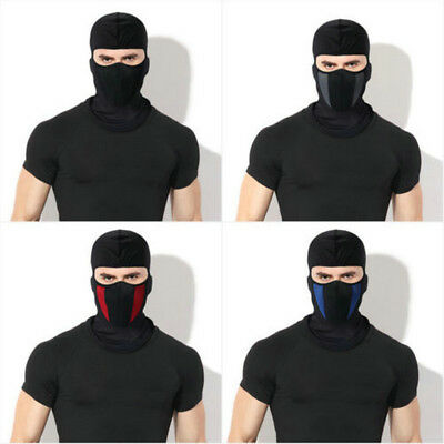 Outdoor Windproof Motorcycle Ski Cycling Balaclava Full Face Mask Neck Scarf Hat