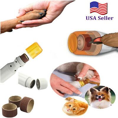 Electric Paws Nail Trimmer Grinder Grooming Tool Care Clipper For Pet Dog Cat