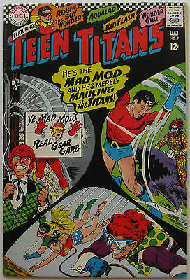 Teen Titans #7 (Jan-Feb 1967, DC), VFN-NM condition