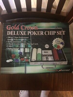 Delux Poker Chip Set