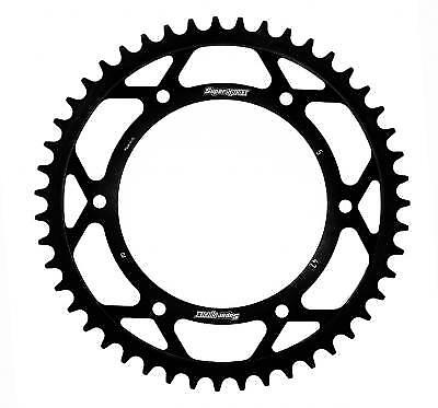 Supersprox Steel Black Rear Sprocket 520 47 Teeth Husqvarna TR 650 E 2014