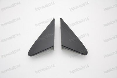 1Pair Front Window Triangle Frame Cover Trim For Chevrolet Cruze 2009-2014