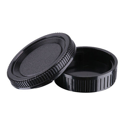 Rear Lens Cap & Body Front Cover for Minolta MD MC Camera Lens and Body