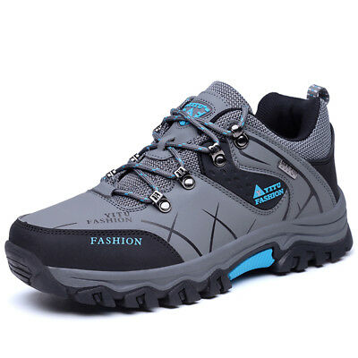 AU Men's Waterproof Outdoor Hiking Shoes Anti-skid Athletic Casual Walking Shoes