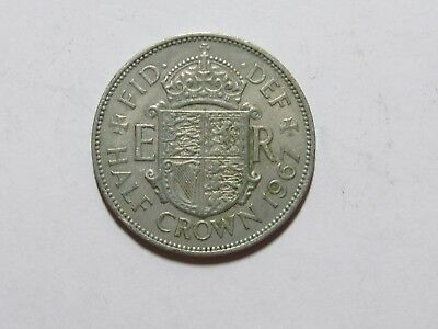 Old Great Britain Coin - 1967 Half Crown Halfcrown - Circulated