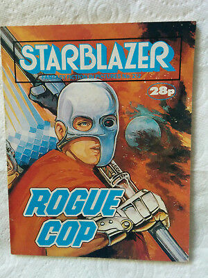 """Starblazer #212 """"ROGUE COP"""" published by DC Thomson"""
