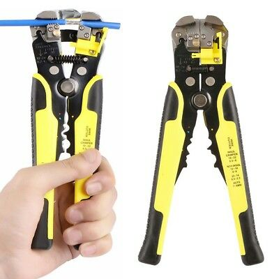 3in1 8'' Self Adjusting Wire Cable Stripper Cutter Stripping Tool Terminal Plier