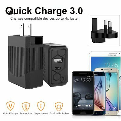 38W USB Type-C USB-C 3.1A Quick Charge 3.0 PD Fast Charging Wall Charger Adapter
