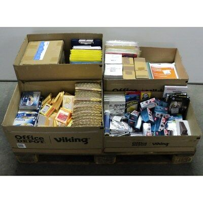Job Lot Assorted Office Stationery and Equipment, F3EX