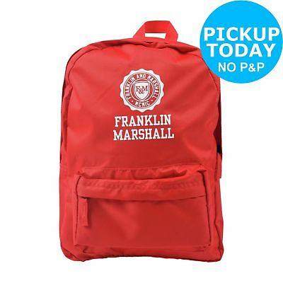 Franklin & Marshall Backpack - Red