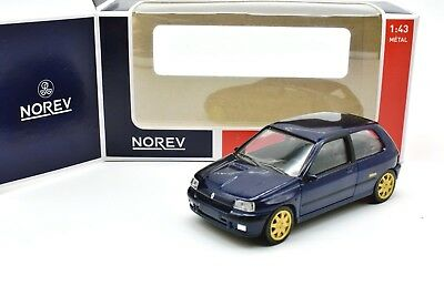 Modellino Auto Renault Clio Williams Scala 1:43 Diecast Car Model Miniature Neuf