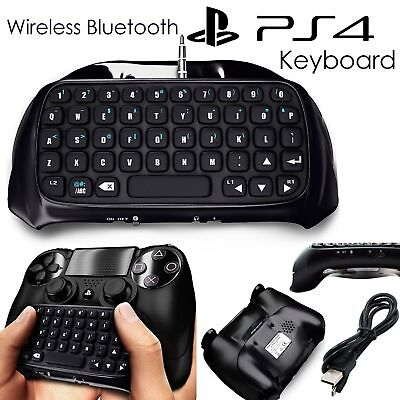 PlayStation for PS4 Wireless Bluetooth Chatpad Keyboard Controller GamePad UK