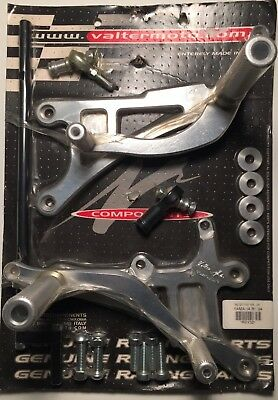 Pedane arretrate kit per Yamaha YZF R1 2004 Tipo 1 Pey 30 Valter Moto Components