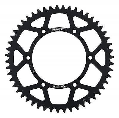 Supersprox Aluminium Black Rear Sprocket 520 51 Teeth Yamaha YZ 490 H 1987