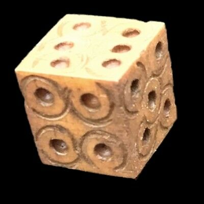 ANCIENT ROMAN PERIOD DECORATED DICE 2nd-3rd Cent AD (1)