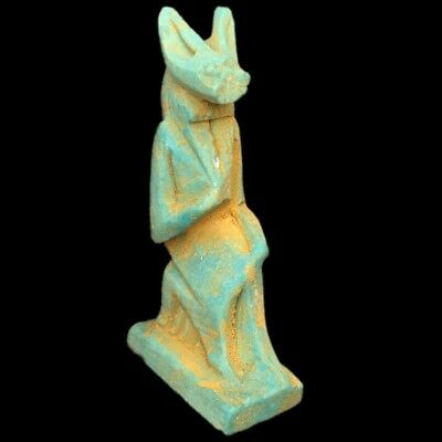 Rare Beautiful Ancient Egyptian Amulet 300 B.c.  (2)