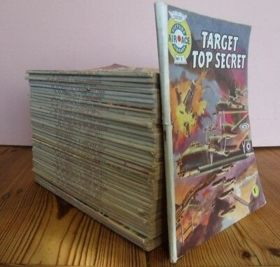 AIR ACE PICTURE / COMIC  LIBRARY numbers 1-41 COMPLETE 1960 - 61. FLEETWAY R.A.F