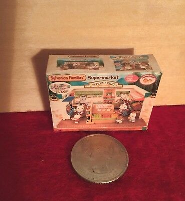 "1:6 scale Handmade mini for 11""-12"" size dolls - Sylvanian Families Supermarket"