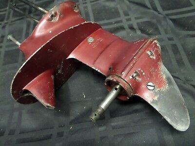 1957 Johnson Fd-11 18Hp Stnd Lower Unit Gearcase 377117 Outboard Motor Evinrude