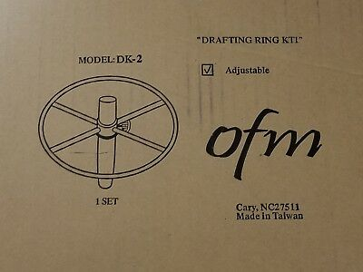 Ofm Dk-2 Drafting Kit Black Footrest Accessory For OFM Computer Office Chairs