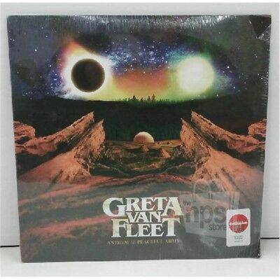 Greta Van Fleet: Anthem of the Peaceful Army Collectible Red Vinyl NM/G+