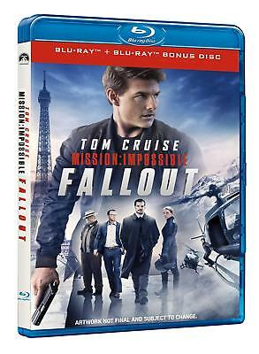 Mission: Impossible - Fallout - Blu Ray  Blue-Ray