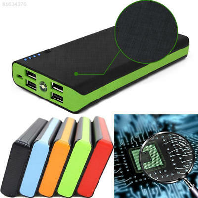 B42F 4USB LED DIY Power Bank Case Kit 6x18650 Battery Charger Box Case For Phone