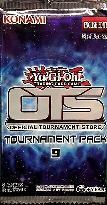 Yugioh Ots Tournament Pack 9 Op09 Booster Factory Sealed Pack English