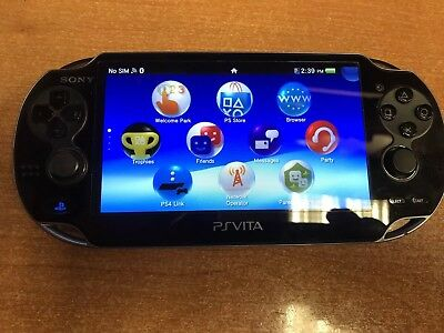 Sony PlayStation PS Vita Black PCH-1001             I Have Two For Sale