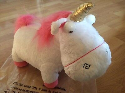 New! Despicable Me 2 Agnes' Fluffy Lights & Sounds Unicorn