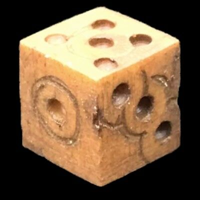 ANCIENT ROMAN PERIOD DECORATED DICE 2nd-3rd Cent AD (2)