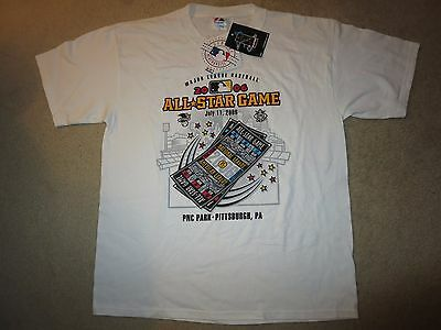 Pittsburgh Pirates 2006 National League MLB All Star Game Jersey Shirt XL NEW