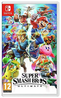 Super Smash Bros Ultimate Nintendo Switch Game 12+ Years