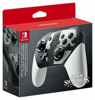 Nintendo Switch Pro Controller - Super Smash Bros