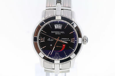 Men's Raymond Weil 2843-ST-00207 Parsifal Black Dial Automatic Watch