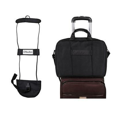 Travel Luggage Bag Bungee Backpack Carrier Strap Suitcase Easy to Carry Belt W