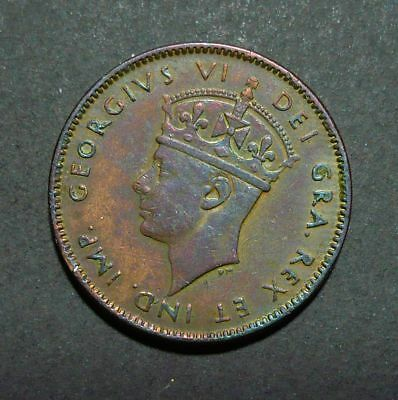1942 Newfoundland Small 1 Cent