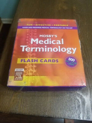MOSBY'S MEDICAL TERMINOLOGY Flash Cards by Mosby (English) 800 Cards