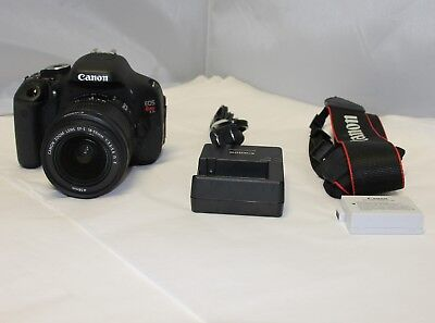 Canon EOS Rebel T3i / EOS 600D 18.0MP DSLR ---HAS ISSUES---For Parts/Repair