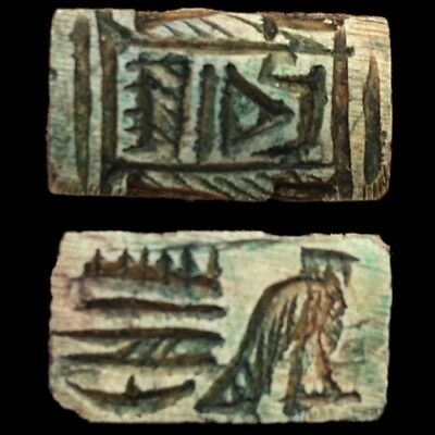 Rare Beautiful Ancient Egyptian Amulet 300 B.c.  (9)