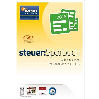 Wiso Steuer Sparbuch 2016 in OVP