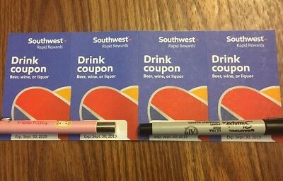 Southwest Airlines drink coupons