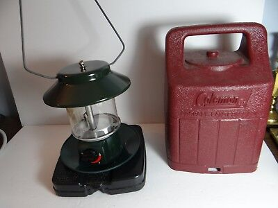 COLEMAN PROPANE LANTERN Two Mantle with Case 5154-097C