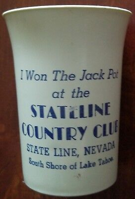 Nevada Club Gaming Cup. Stateline Country Club. Stateline, NV