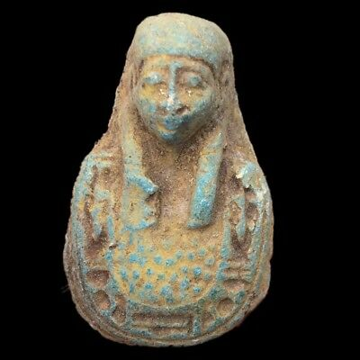 Rare Beautiful Ancient Egyptian Amulet 300 B.c.  (13)