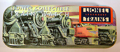 "LIONEL Legendary Trains Collectible Watch Tin 5-3/4"" Long"