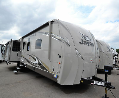 2018 jayco Eagle 338RETS rear entertainment with 3 slides travel trailer
